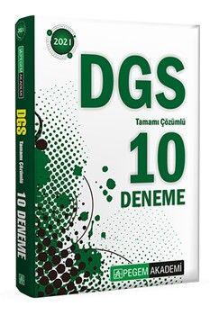 Pegem Yayınları 2021 DGS Tamamı Çözümlü 10 Deneme