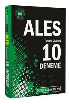 Pegem Yayınları 2021 ALES Tamamı Çözümlü 10 Deneme