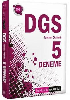 Pegem Yayınları 2021 DGS Tamamı Çözümlü 5 Deneme