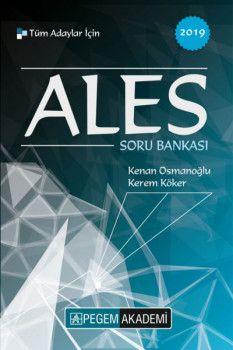 Pegem Yayınları 2019 ALES Tüm Adaylar için Soru Bankası