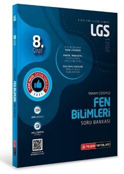 Pegem Yayınları 2021 8. Sınıf LGS Fen Bilimleri Tamamı Çözümlü Soru Bankası