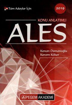 Pegem Yayınları 2019 Tüm Adaylar İçin ALES Konu Anlatımlı
