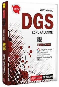 Pegem Yayınları 2022 DGS Video Destekli Konu Anlatımlı