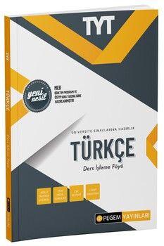 Pegem Yayınları  TYT Türkçe Ders İşleme Föyü