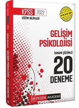 Pegem Yayınları 2022 KPSS Eğitim Bilimleri Gelişim Psikolojisi 20 Deneme