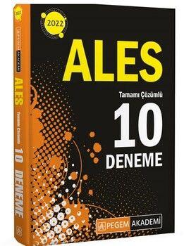 Pegem Yayınları 2022 ALES Tamamı Çözümlü 10 Deneme