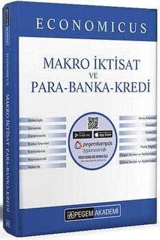 Pegem Yayınları 2022 KPSS A Grubu Economicus Makro İktisat ve Para Banka Kredi Konu Anlatımı
