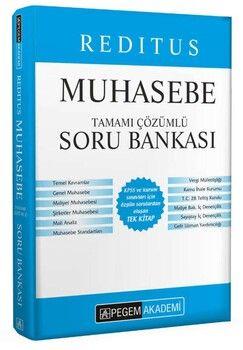 Pegem Yayınları 2022 KPSS A Grubu Muhasebe Soru Bankası