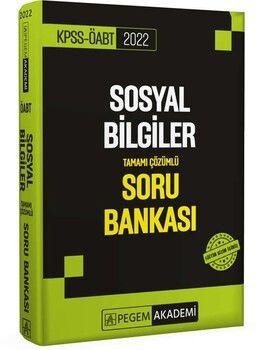 Pegem Yayınları 2022 KPSS ÖABT Sosyal Bilgiler Soru Bankası