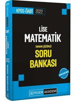 Pegem Yayınları 2022 KPSS ÖABT Lise Matematik Soru Bankası