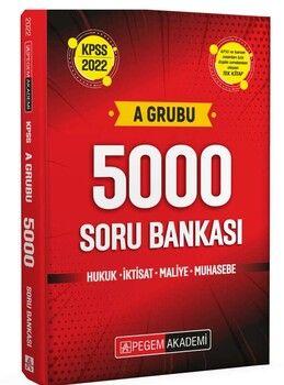 Pegem Yayınları 2022 KPSS A Grubu 5000 Soru Bankası