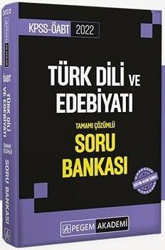 Pegem Yayınları 2022 KPSS ÖABT Türk Dili ve Edebiyat Soru Bankası