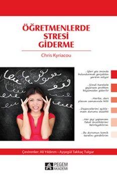 Pegem Yayınları Öğretmenlerde Stresi Giderme