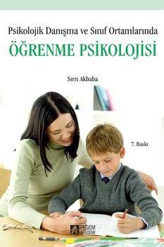 Pegem Yayınları Öğrenme Psikolojisi