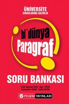 Pegem Yayınları Üniversiteye Hazırlık Bi Paragraf Soru Bankası
