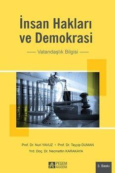 Pegem Yayınları İnsan Hakları ve Demokrasi