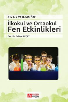 Pegem Yayınları İlkokul ve Ortaokul Fen etkinlikleri