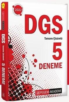 Pegem Yayınları DGS Tamamı Çözümlü 5 Deneme