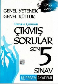 Pegem Yayınları Genel Yetenek Genel Kültür Son 5 Sınav Tamamı Çözümlü Çıkmış Sorular