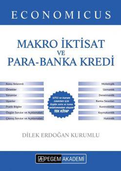 Pegem Yayınları KPSS A Grubu Economicus Makro İktisat ve Para Banka Kredi Konu Anlatımı