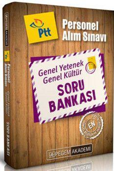 Pegem Yayınları PTT Personel Alımı Sınavı Genel Yetenek Genel Kültür Soru Bankası