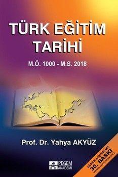 Pegem Yayınları Türk Eğitim Tarihi