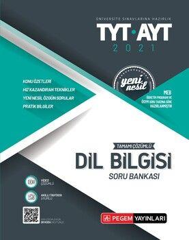 Pegem Yayınları TYT AYT Dil Bilgisi Tamamı Çözümlü Soru Bankası