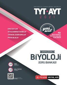 Pegem Yayınları TYT AYT Biyoloji Tamamı Çözümlü Soru Bankası