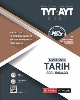 Pegem Yayınları TYT AYT TarihTamamı Çözümlü Soru Bankası