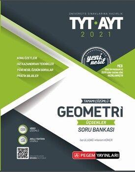 Pegem Yayınları TYT AYT Geometri Üçgenler Tamamı Çözümlü Soru Bankası