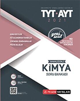 Pegem Yayınları TYT AYT Kimya Tamamı Çözümlü Soru Bankası