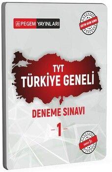 Pegem Yayınları TYT Türkiye Geneli Deneme Sınavı 1