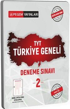 Pegem Yayınları TYT Türkiye Geneli Deneme Sınavı 2