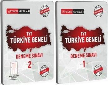 Pegem Yayınları TYT Türkiye Geneli 1 2 Deneme Seti