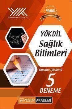 Pegem Yayınları YÖKDİL Sağlık Bilimleri Tamamı Çözümlü 5 Deneme