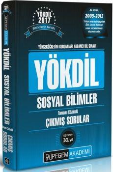 Pegem Yayınları YÖKDİL Sosyal Bilimler Tamamı Çözümlü Çıkmış Sorular
