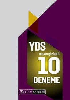 Pegem Yayınları2020 YDS Tamamı Çözümlü 10 Deneme