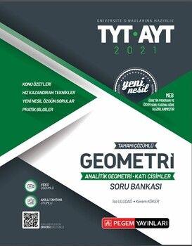 Pegem YayınlarıTYT AYT Geometri Analitik Geometri Katı CisimlerTamamı ÇözümlüSoru Bankası