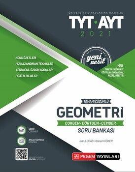 Pegem YayınlarıTYT AYT Geometri Çokgen Dörtgen Çember Tamamı Çözümlü Soru Bankası