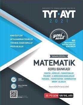 Pegem YayınlarıTYT AYT Matematik Tamamı Çözümlü Soru Bankası