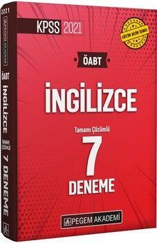 Pegem Yayınları2021 KPSS ÖABT İngilizce Tamamı Çözümlü 7 Deneme