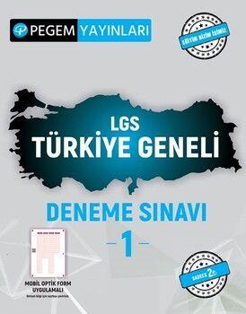 Pegem YayınlarıLGS Türkiye Geneli Deneme Sınavı 1