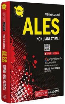 Pegem Yayınları2022 ALES Konu Anlatımlı Tüm Adaylar İçin Video Destekli