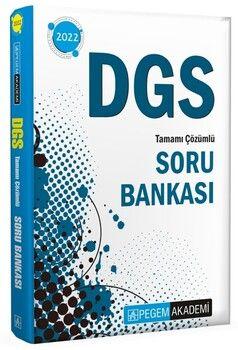 Pegem Yayınları2022 DGS Tamamı Çözümlü Soru Bankası