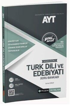 Pegem Yayınları AYT Türk Dili ve Edebiyatı Tamamı Çözümlü Soru Bankası