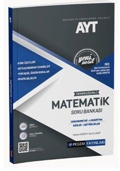 Pegem Yayınları AYT Matematik Trigonometri Logaritma Diziler EşitsizliklerTamamı Çözümlü Soru Bankası