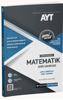 Pegem Yayınları AYT Matematik Limit Türev İntegral Tamamı Çözümlü Soru Bankası