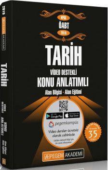 Pegem Yayınları2019 KPSS ÖABT Tarih Video Destekli Konu Anlatımlı