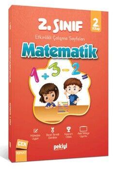 Pekiyi Yayınları 2. Sınıf Matematik Etkinlikli Çalışma Sayfaları 2. Kitap