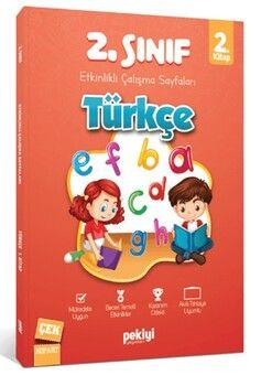 Pekiyi Yayınları 2. Sınıf Türkçe Etkinlikli Çalışma Sayfaları 2. Kitap
